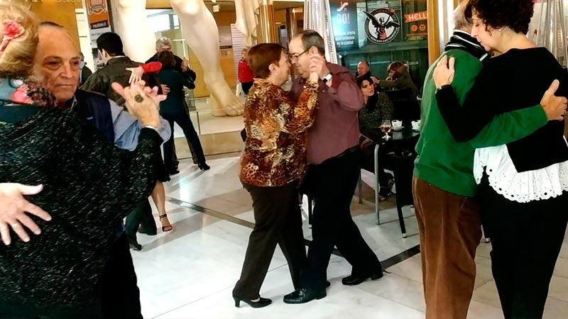 Falshmob para el Día Internacional del tango